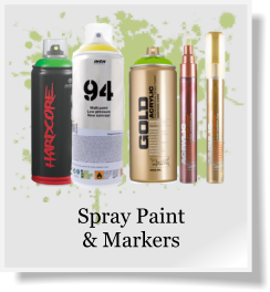 Spray Paint & Markers